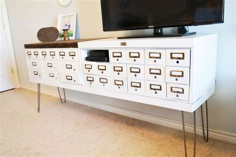 Small Kitchen Cabinets Storage by 7 Diy Tv Stands That Hide Ugly Cable Boxes And Wires