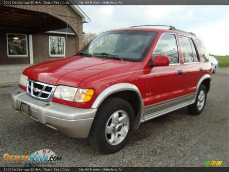 2000 Kia Sportage 4x4 2000 Kia Sportage Ex 4x4 Classic Gray Photo 2