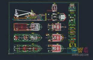 ship dwg rescue boat autocad project 187 dwgdownload