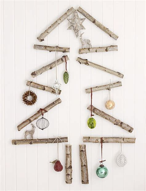 rustic simple diy christmas trees handmade charlotte