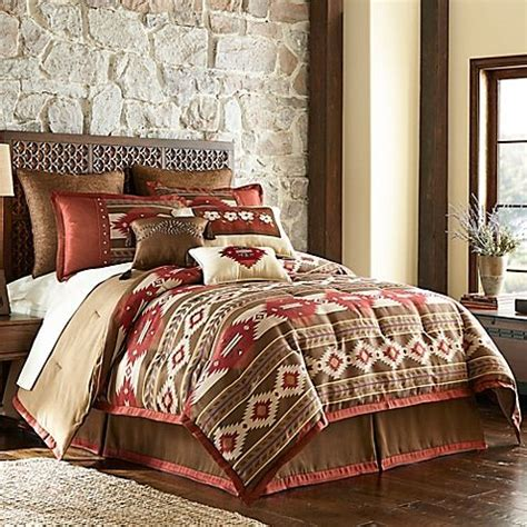 bed bath and beyond cheyenne cheyenne comforter set in brown homes and interiors