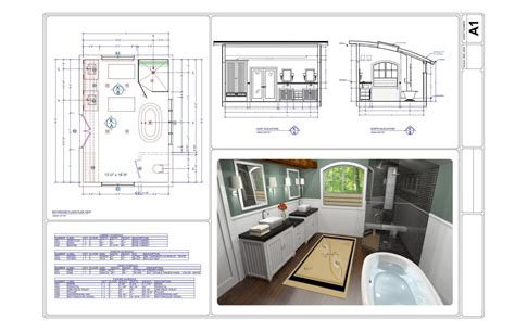Design Your Own Virtual Bathroom by Cad Software For Kitchen And Bathroom Designe Pro