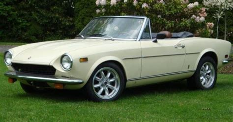 No Reserve Backdated 1978 Fiat 124 Spider Bring A Trailer