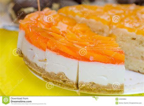 Jelly Whitening Ekstrak Orange Premium orange jelly cake stock photo image 54620884
