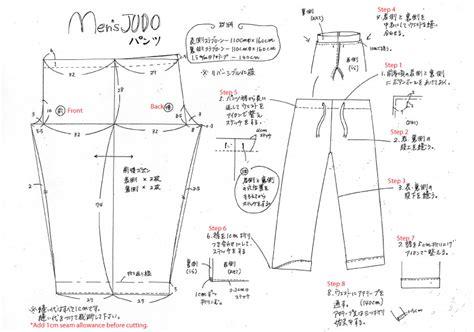 pattern making pants free mens pyjama pants sewing pattern tutorial メンズ パジャマ