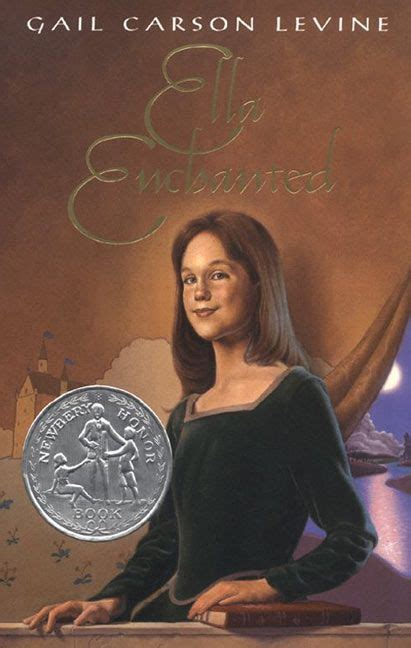 ella enchanted book report ella enchanted gail carson levine hardcover