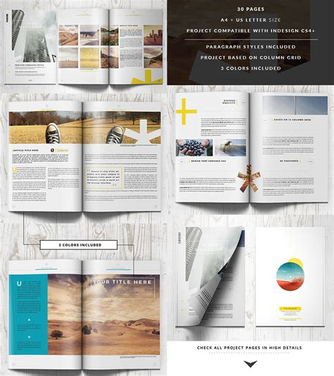 20 Magazine Templates With Creative Print Layout Designs Indesign Layout Templates