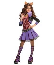 wolf halloween costume for girls clawdeen wolf kids animal costume halloween costumes
