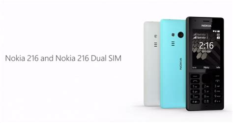 Nokia 216 Dual Sim nokia 216 dual sim this feature phone can take selfies