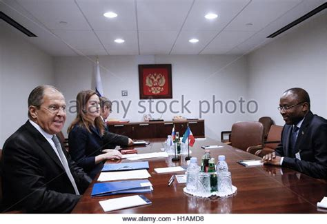 Mba New York Usa by New York City Usa 23rd Sep 2016 Russia S Foreign