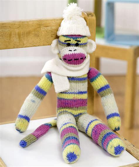 Monkey Yellow Top Knit sock monkey knitting pattern a knitting
