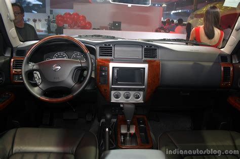nissan patrol super safari 2016 nissan patrol super safari interior at the philippines