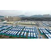 BYD Building Electric Bus Factory In Komarom Hungary