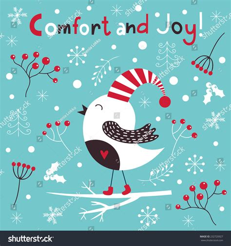 christmas cards shutterstock vector illustration greeting card stock vector 232720927