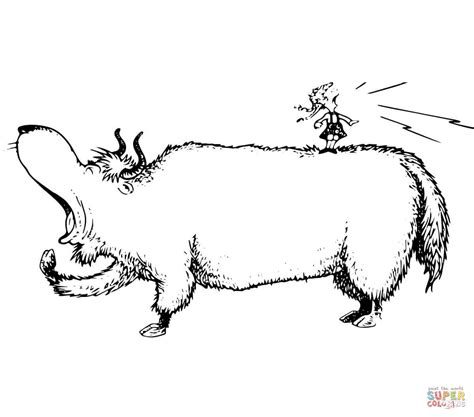 coloring pages yak yak coloring page pages grig3 org
