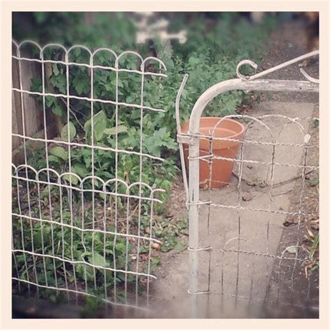 vintage wire garden fence gate nest vintage modern