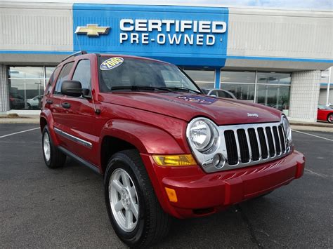 Pre Owned Jeep Pre Owned 2005 Jeep Liberty Limited Sport Utility In