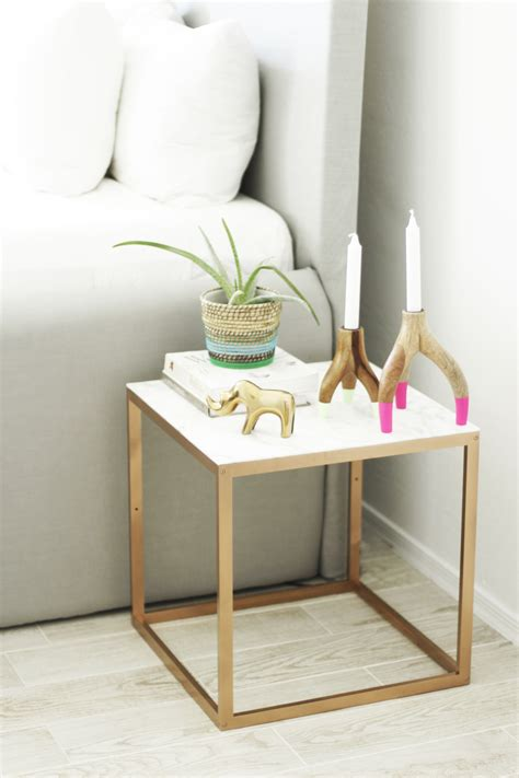 Ikea End Table Hack | 25 genius ikea table hacks