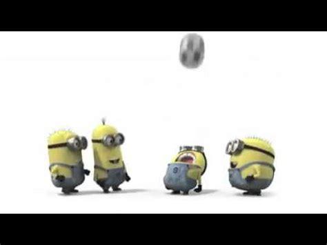 imagenes de minions jugando soccer los minions jugando futbol youtube