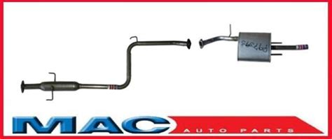 1991 Toyota Exhaust System 1990 1991 1992 Toyota Corolla 1 6l Muffler Exhaust Pipe System