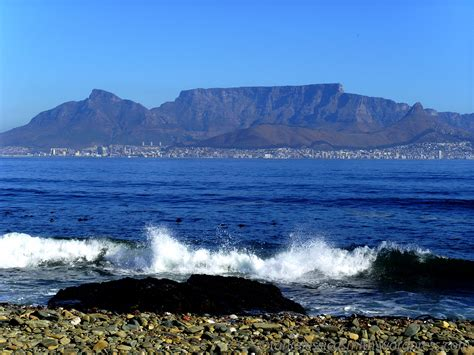 table mountain view table mountain view robben island south africa