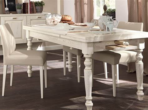 tavoli da cucina lube tavolo allungabile da cucina in legno vecchia toscana by
