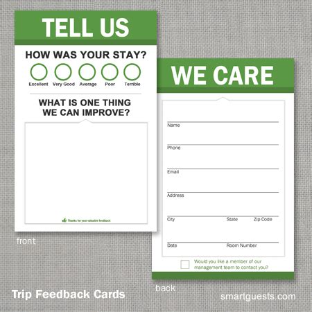Customer Satisfaction Card Template by Review Tools