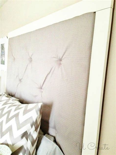 diy headboard tutorial diy tufted headboard by u create home decor ideas