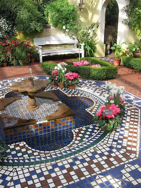 Moroccan Garden Ideas Moorish Garden Garden Pinterest