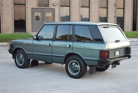 vintage range rover for sale no reserve 1988 range rover 40th edition for sale