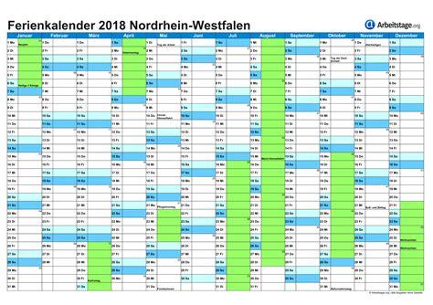 Schulferien Org Kalender 2018 Ferien In Nordrhein Westfalen Nrw 2018 2019