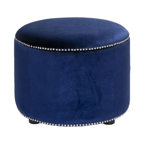 beech ottoman safavieh louis beech wood ottoman in blue hud8208f