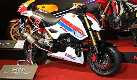 Honda Motorrad Tuning Parts by New Honda Grom Msx125sf Race Bike Built By Hrc Osaka