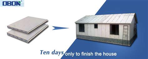 Obon Lightweight Insulated Eps Cement Sandwich Panel
