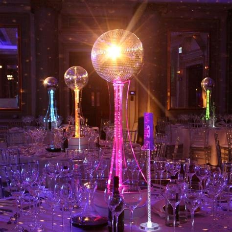 70s theme decorations ideas centrepieces for weddings banquets receptions and