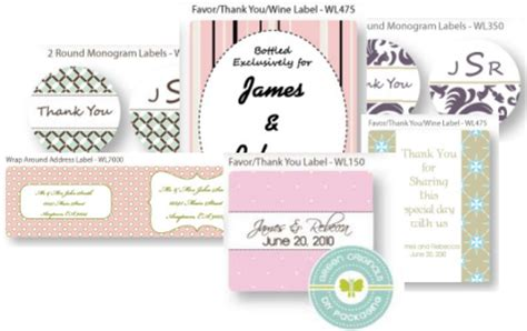 Wedding Labels Valentines Labels Wedding Tags Template