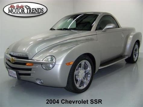auto manual repair 2004 chevrolet ssr seat position control sell used 2004 chevy ssr ls chrome wheels running boards bed kit leather heated seats 37k in