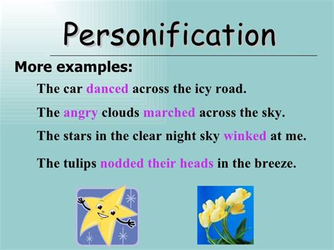 personification exles personification more exles
