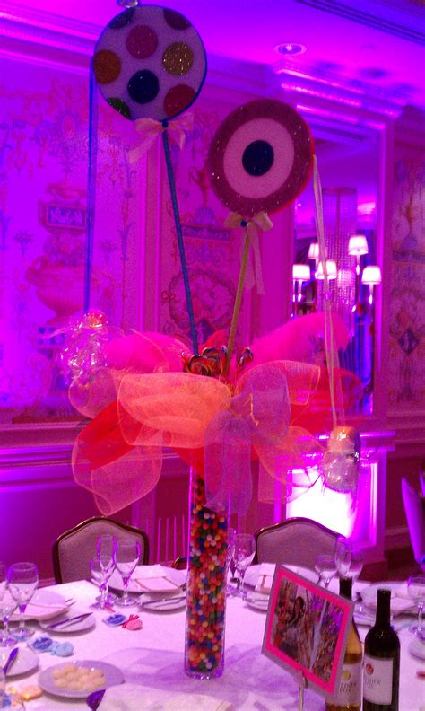 How To Make Sweet Decorations by Sweet Sixteen Table Decorations Ideas Photograph