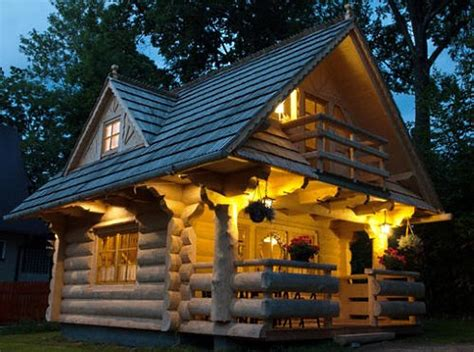 tiny house planslittle log cottages