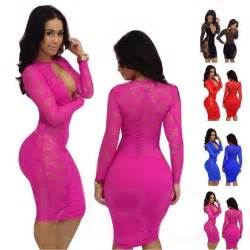 free shipping women dresses lady lace long sleeve