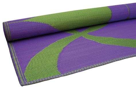 green and purple rug waves print floor mat green and purple contemporary outdoor rugs newark by rhadi living