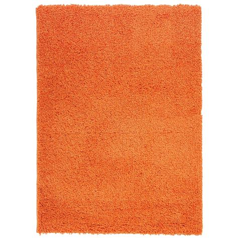 orange accent rug berrnour home orange area rug wayfair