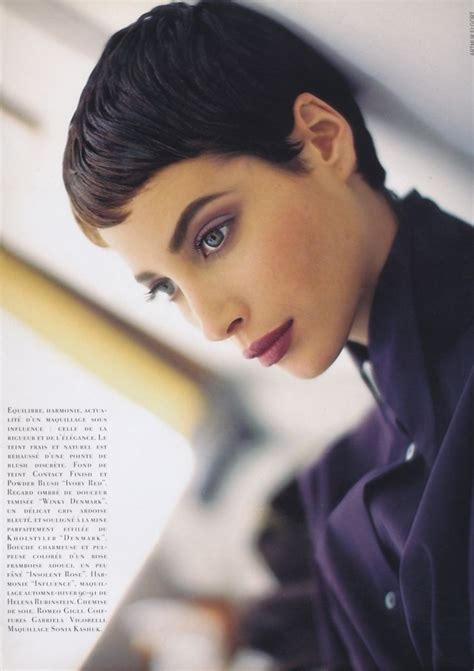 pics of christy turlington when she had short hair 17 images about short hair on pinterest platinum