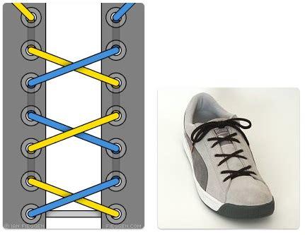 tutorial tali sepatu yg keren 34 cara unik dan keren dalam mengikat tali sepatu sepatu
