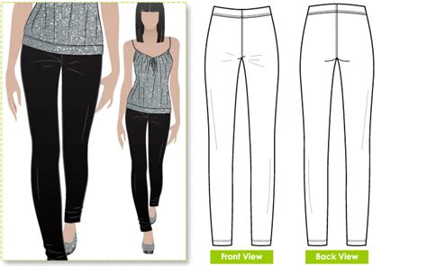 pattern sewing pants finished bread and butter sewing the style arc elle pants