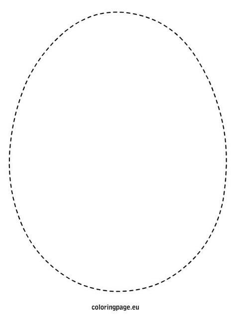 Egg Templates For Cards by Easter Egg Template Easter Eggs Easter