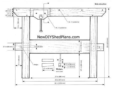 woodworking plans wood workbench plans   plans