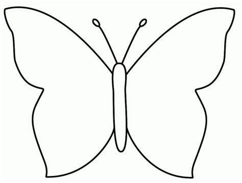 free coloring pages of symmetrical butterfly