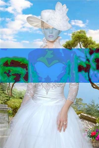 lady in white wedding dress photoshop costume psd free